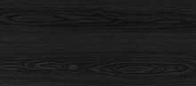 Panorama Of Black Vintage Wooden Table Top Pattern Texture And Seamless Background