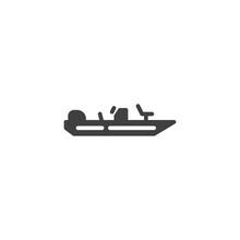 Fishing Boat Vector Icon