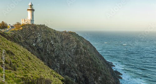 Fotografie, Obraz Cape Byron lighthouse in New South Wales in Australia