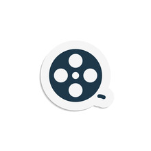 Film Reel - Sticker