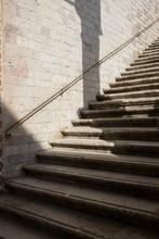 Stairs In San Francesco D'Assisi Church