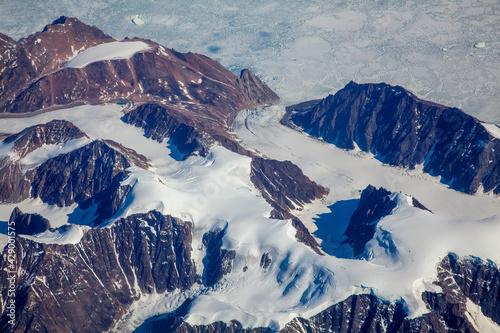 Grenlandia z lotu ptaka #429001575