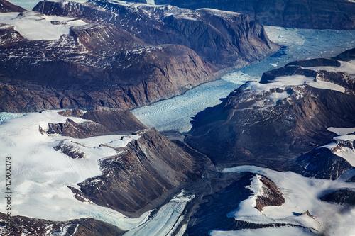 Grenlandia z lotu ptaka #429002178
