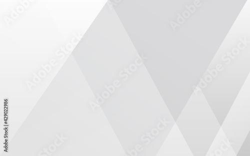 Obraz シンプルなグレーの抽象、斜めのグラデーションライン、背景素材、ベクター素材 - fototapety do salonu