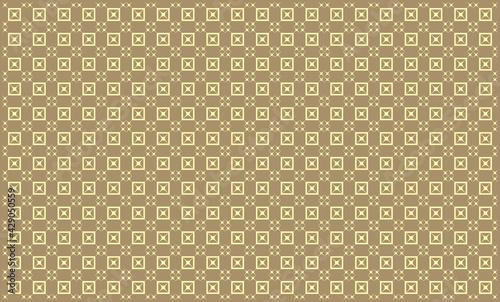 deseń złoty