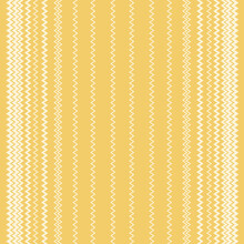 Monotone Ric Rac Vertical Stripe Vector Design.