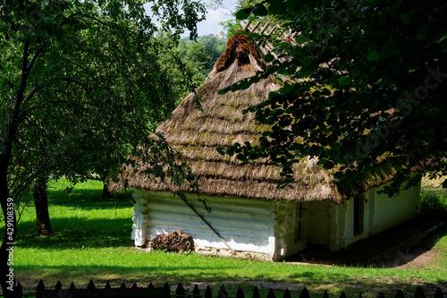 krajobraz polskiej wsi - fototapety na wymiar