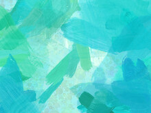 Paint Strokes Abstract Pattern Background