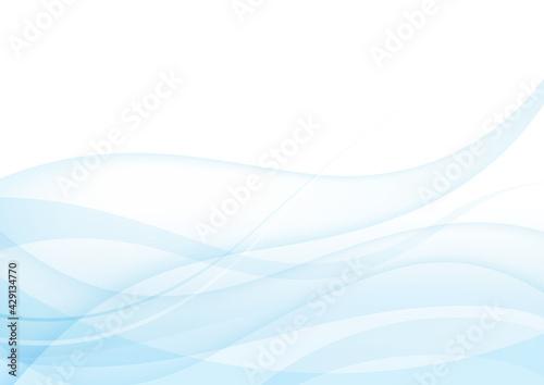 Fototapeta ウェーブ,波,背景,曲線,海,風,ブルー,夏