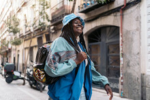 Cool Black Woman In The City