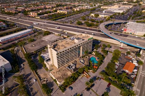 Photo Aerial photo Holiday Inn Hialeah Gardens Miami FL