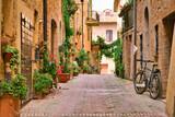 Fototapeta Uliczki - View of Pienza, Siena, Tuscany, Italy