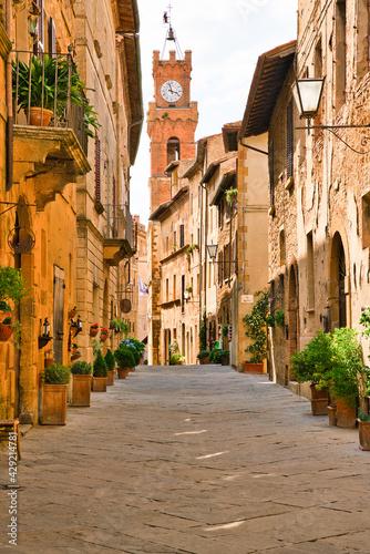 Fototapeta premium View of Pienza, Siena, Tuscany, Italy