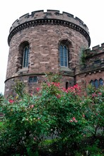 The Western Tower Of The 16th Century Carlisle Citadel Fortress On English Street In Carlisle, Cumbria, England, UK