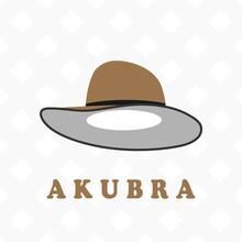 Akubra Local Australian Hat Flat Vector Design