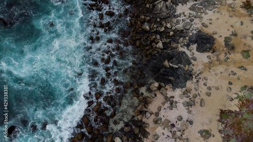 Photo Cenital playa las cruces costa de chle