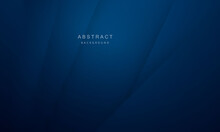Abstract Blue Background Poster With Dynamic. Technology Network Vector Illustration.