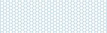 Texture Nid D'abeille Bleu, Fond Blanc