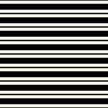 Horizontal Lines Pattern. Seamless And Vector Monochrome Lines.