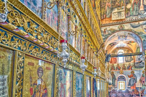 Bachkovo Monastery, Bulgaria, HDR Image - fototapety na wymiar