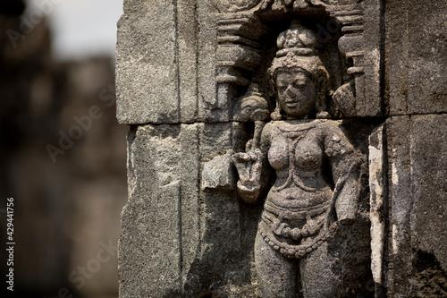 Hindu temple of Pranbanan in Java, Indonesia - fototapety na wymiar