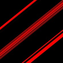 Diagonal Striped Designs In Shades Vivid Red And Black Colours
