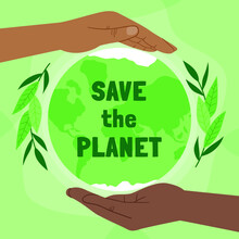 Hand Drawn World Environment Day Save Planet Illustration_2