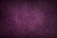 Purple Textured Wall Background - Free Space For Your Text, Copy Space