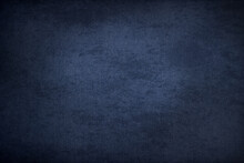 Blue Vignette Textured Background - Free Space For Your Text, Copy Space