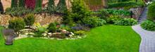Detail Of A Botanical Garden.