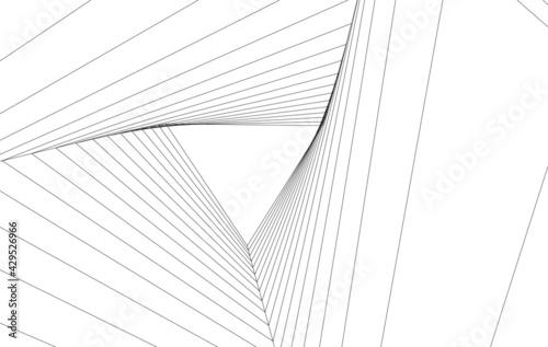 concept modern architecture - fototapety na wymiar