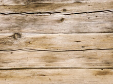 Brown Wood Texture With Natural Pattern. Old Rustic Wooden Background.
