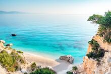 Spiaggia Di Cala Goloritze, Baunei, Sardegna, Italia