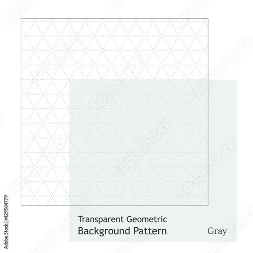 幾何学模様の透明なシンプルなグレーラインのパターン - fototapety na wymiar