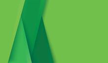 Modern Green Lines Background Vector Illustration EPS10