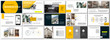 Set of business plan presentation template. Social media pack. Easy use in modern blog posts or Editable simple info banner, trendy book. For app, digital display style. Bright web flyer work. a4. ppt