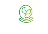 liście, logo, zielone, element, ogród, ogrody,