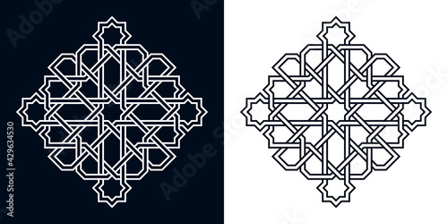 Fotografie, Obraz Islamic traditional rosette