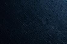 Dark Creative Background: Black Primed Linen Canvas, Uneven Lighting, Color Toning