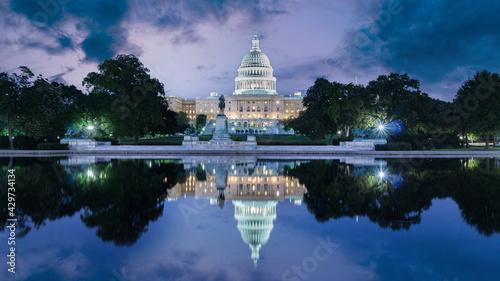 Foto The United Statues Capitol Building, Washington DC, USA.