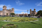 La gran plaza central de Cusco
