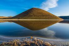 Meke Lake In Konya Province