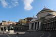 San Francesco di Paola at Piazza del Plebiscito in Naples, Italy