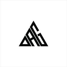 D A G Letter Logo Creative Design. DAG Icon