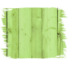 Green Wood Texture, Background For Sublimation And Printing, Brush, Stamp. Template Blank, Layout.