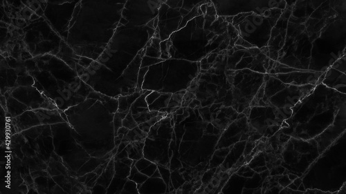Fotografie, Tablou Black marble texture for background or tiles floor decorative design