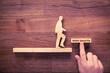 Leinwandbild Motiv Work smarter motivation concept