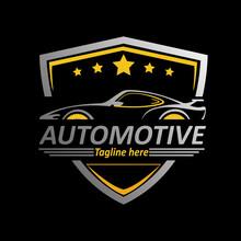 Automotive Logo Design Template For Business