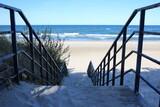 Fototapeta Fototapety z morzem do Twojej sypialni - Morze bałtyckie schody Plaża