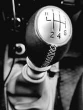 Gearshift Knob In The Car